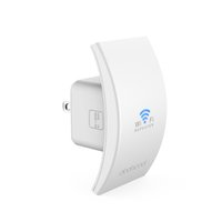 antenna wall mounts - dodocool N300 Wall Mounted Wireless Range Extender Signal Booster Support Access Point AP Repeater with Dual Integrated Antennas DC39