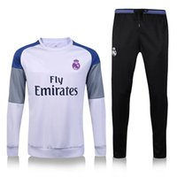 Wholesale Real Madrid jersey No Cristiano Ronaldo training sports style Netherlands and Portugal football suits for adults and child