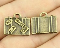 antique trunks - WYSIWYG mm antique bronze color Trunk charms