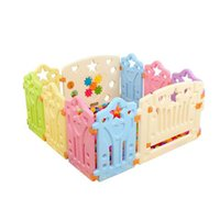 Multi-Color baby playpen gate - Safety Gate Baby Playpens Baby Crawling Toddler Safety Fence Plastic Fence Playpens Toys Baby VE0066