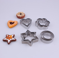 stainless steel baking cutter shapes - Factory Price SET Cute Shape Fondant Cake Baking Mould Pastry Biscuit DIY Cookie Cutters