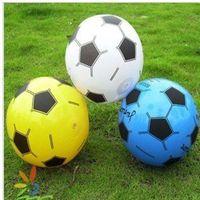 Wholesale 10pcs Inflatable Ball cm Football children toys Mini Soccer Ball Beach Ball Juggling Balls Kid Toy