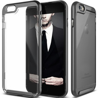 Silicone air series - For iPhone bumper Case Transparent Clear Enhanced Grip Slim case with air Cushion for Apple iPhone S plus Skyfall Series