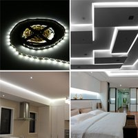 Wholesale 5M Cool White SMD LED Non Waterproof Flexible Strip Lighting Christmas Party Bedroom Home Decor V PL705_LB