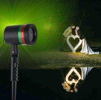 Wholesale Star Shower laser light X mas Fantastic Star Light Party Light Outdoor Waterproof Stars Projector Home Garden Christmas Decor OOA945