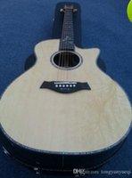 Wholesale Folk guitar inch Spruce face single inch veneer wood guitar