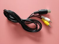 Wholesale 2RCA AV TV Audio Video Composite Adapter Cord Cable for Sega Genesis