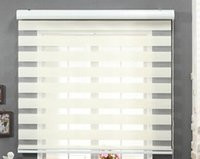 Wholesale home decor white blackout zebra shading blinds