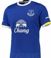 Wholesale 2021 New Everton Sports T shirt Shirt Shirt Uniforms Short Sleeve Customized Sportswear Everton