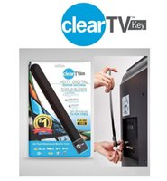 Wholesale HOT Clear Tv key HDTV digital indoor antenna sleek slim design hidden behind TV Get broadcast tv for free