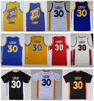 Wholesale Cheap Men s Stephen Curry Jersey High quality Stephen Curry Jersey Stitched Blue White Yellow Black Jerseys