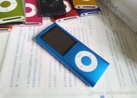 Wholesale 1 inch LCD Screen MP3 MP4 Multi Media Video Player GB Music FM Radio With Retail Box