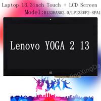 Wholesale Laptop inch Lenovo YOGA Touch LCD Screen LP133WF2 SPA1 B133HAN02