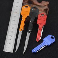 Wholesale Folding knife self defense outdoor multifunctional key survival knife Mini Swiss Army knife