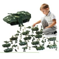 army men toy soldiers - Nostalgic toys World War II soldier military toys kit Action Figures military Army Men Play set