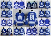 Wholesale Toronto Maple Leafs Custom Jersey Phil Kessel Doug Gilmour Joffery Lupul Sittler Domi Phaneuf Matthews Customize