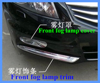 Honda accord trim - 2013High quality ABS chrome front fog lamp cover front lamp decoration trim For HONDA Accord
