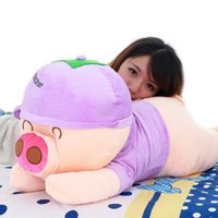 achat en gros de mcdull cochon en peluche poupée-100cm Large Anime McDull Poupée Peluche Soft Peluche 39 '' Cartoon Pillow Poupée Doll Great Baby Present