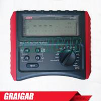 Wholesale UNI T UT595 Digital Multifunction Tester RCD LOOP Current Voltage TESTER MEGOHMMETER MEGGER RESISTANCE IMPEDANCE Earthing OZ