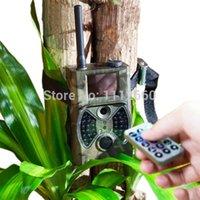 Wholesale HC300M Night Vision MP Black LED GSM MMS1 p HD Wireless Trail Camera