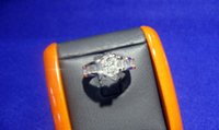 South American baguette engagement ring - Diamond Engagement ring cts Main stone Baguette cts Retail