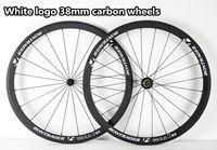 Wholesale With R13 Ceramic Hubs mm width White logo aeolus mm carbon bike Wheels aeolus mm road bike carbon wheels