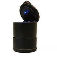 ashtray for car - MYLB Cars Car Ashtray for cup holder universal car with LED lamp
