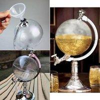Wholesale High Quality Novelty Globe Shaped Beverage Liquor Dispenser Drink Wine Beer Pump Single Canister Pump