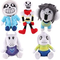 Wholesale Undertale Sans Papyrus Asriel Toriel Stuffed Doll Plush Toy For Kids Christmas Gifts