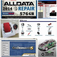 Wholesale 2016 New Auto Repair Software Alldata mitchell manager plus mitchell on demand vivid in1 software new usb hard disk