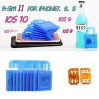Wholesale R SIM RSIM11 r sim11 rsim unlock for iPhone plus iOS7 ios7 x CDMA GSM WCDMA SB AU SPRINT G G