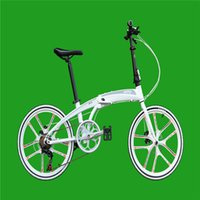 Wholesale 20 Folding Bike Speed inch shaped aerospace aluminum Double Disc Brakes Folding Bicycle X4B