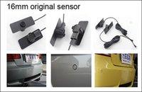 Wholesale Car Parking Sensor System Parking Detector Reversing Radar kit Flat Original Small Sensors with Buzzer