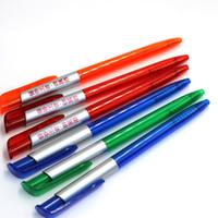 Stylo à bille de 50pcs / lot d'expédition libre, stylo à bille publicitaire, logo fait sur commande disponible, cadeau promotionnel Promotions d'affaires