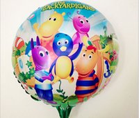 backyard party decorations - Birthday Party Decoration Inch The Backyard igans Foil Balloon Birthday Party Decoration Supplies kids Classic Toy