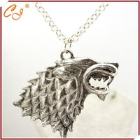 act games - Europe and the United States film act the role ofing is tasted Speed sell through selling game of thrones Wolf necklace