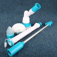 Wholesale 12sets spin scrubber Electric cleaning brush turbo scrub cordless rechargeable products AC V W with Retail box