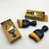 beauty outline - Kylie Makeup Brushes Professional Brush Curved outline makeup brush Foundation Make Up Beauty Tools Cosmetic Brush Retail Package