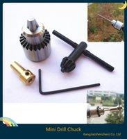 Wholesale Hot Electric Drill Grinding Mini Drill Chuck Key Keyless Drill Chucks mm Capacity Range W mm Shaft Connecting Rod