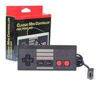 Precio de Extensión del controlador-Controlador de juegos NES CLASSIC MINI Edition Joysticks 1.8m Cable de extensión Gamepad con caja Accesorios de juego