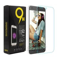alcatel screen protector - For iPhone Tempered Glass Screen Protector For Alcatel Fierce Alcatel Tru ZTE Warp Flim mm H Anti Explosion Film Paper Package