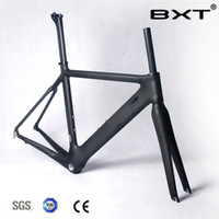 Wholesale hot sale Brand carbon road bike frame Super Light Di2 matt glossy Carbon Bicycle Frame Frameset Fork Seat Post Headset Free Ship