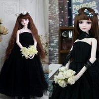 baby doll bra - Dress wedding dress doll dress skirt bra wedding dress female black Gift Girl
