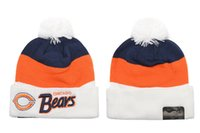 bear christmas beanie - Cheap Footbal l Beanies Men s Bears Heather Gray Sideline Official Sport Knit Hat Dallas Knitted Hats Hottest Sports Team Skull Caps