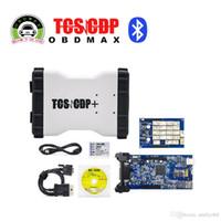 achat en gros de car diagnostic tool-White Color TCS Pro 2014.3 logiciel Pro plus avec Bluetooth cars Trucks outil de diagnostic Livraison gratuite
