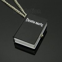 animate death note - Classic Japanese Animate Death Note Quartz Pocket Watch Rectangle Shaped Vine Fob Watches Relogio De Bolso