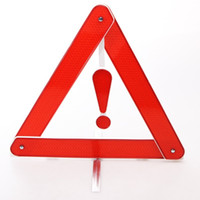 Wholesale 1pcs cm cm Car Emergency Tripod Car Reflective Parking Warning Sign Temporary Parking Sign Automobile Warning Sigh