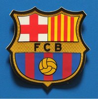 barcelona football teams - Barcelona football patch Soccer Balls Team logo