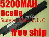 Wholesale mAh Battery For Asus X54H X53U X53S X53SV X84 X54 X43 A43 A53 K43 K53U K53T K53SV K53S K53E k53J K53 A53S A42 K53 A32 K53