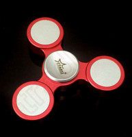 anti copy - Tri Spinner Fidget Toy Hand Spinner Anti Stress Toys Stainless Steel EDC Handspinner Colors High Copy OOA1225